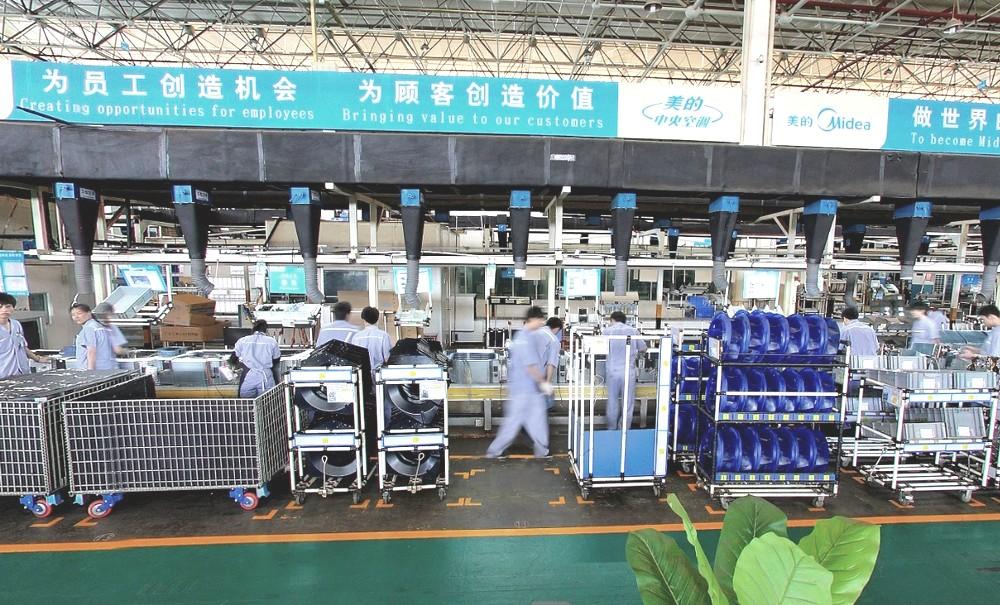 Производственная площадка бытовых сплит-систем LESSAR