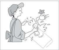 Вымойте переднюю панель в воде с нейтральными моющими средствами